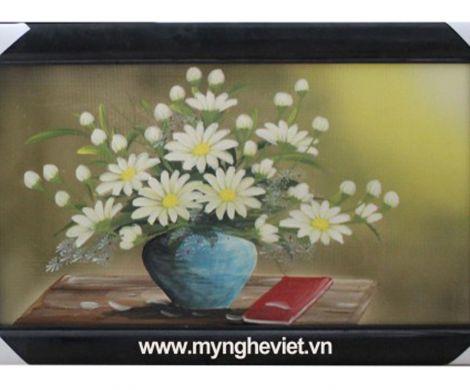 Tranh hoa cúc vàng MNV-TG010/2